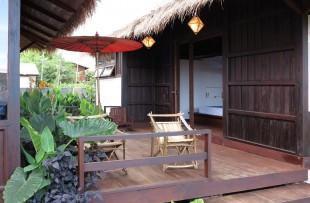 Inle-Maison Birmaine