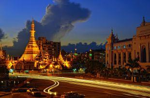 Yangon-Sule pagoda