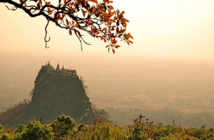 bagan-mount popa