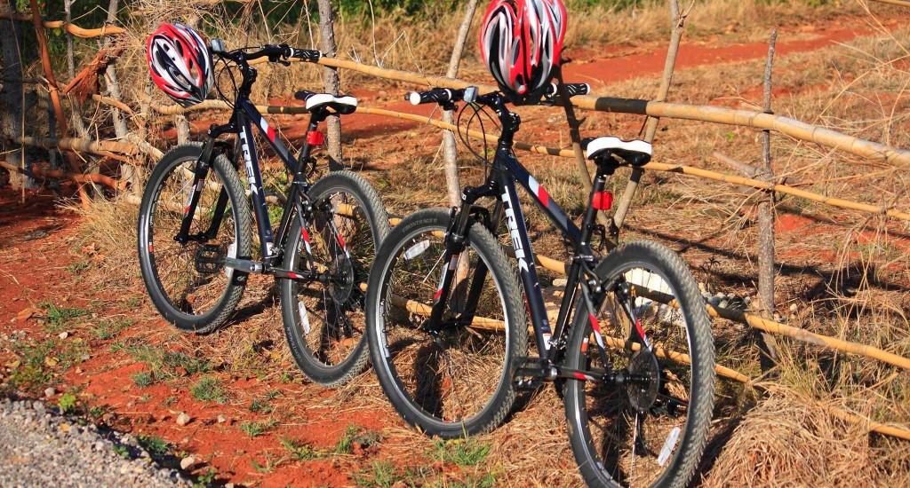 Inle lake bikes